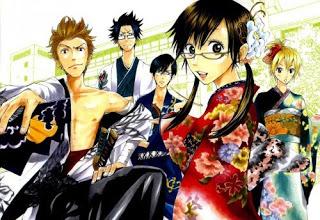 The five main characters of Yanmega.