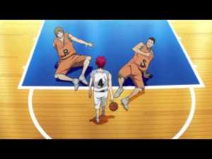 "Seijūro Akashi having his opponents ""bow"" before him."