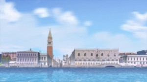 One of the backgrounds used in Aria The Avvenire.