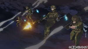 Char leading the assault during the climatic scene in Dawn of Rebellion.