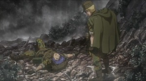 The scene were Char could act upon his grievances towards Garma.